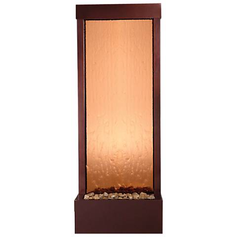 Gardenfall Dark Copper-Bronze Mirror Indoor/Outdoor Fountain
