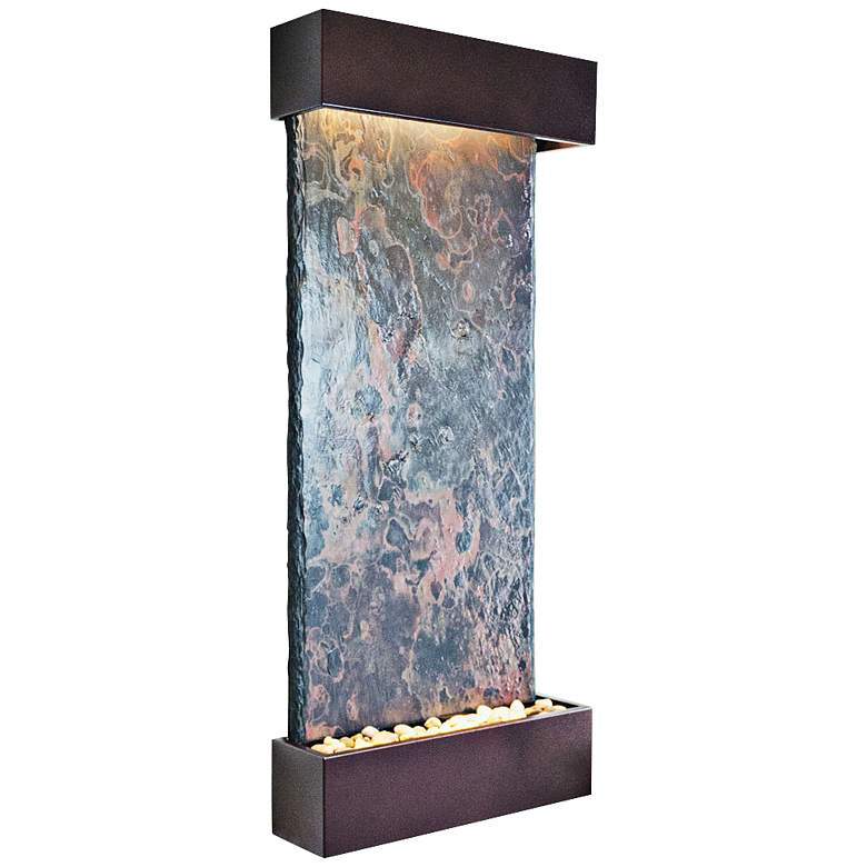 Nojoqui Falls Large Coppervein Indoor Wall Fountain