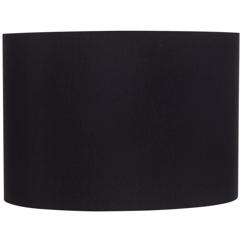 Black Hardback Drum Shade 16x16x11 (Spider)