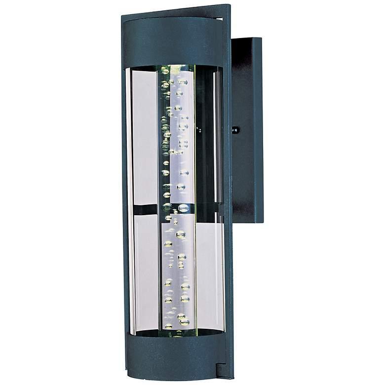 """Maxim New Age Ebony 12 1/2"""" High Outdoor LED Light"""