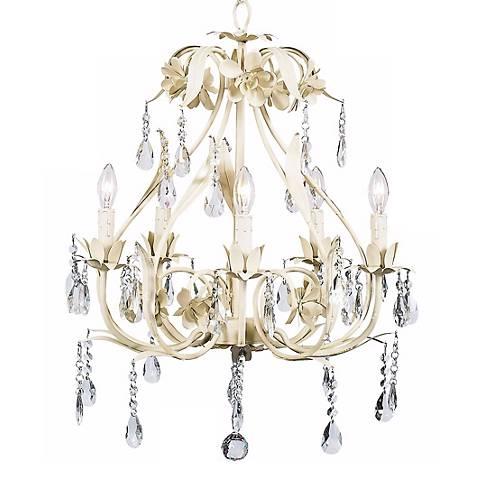 Ivory Ballroom 5-Light Chandelier