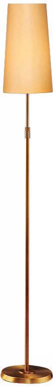 Holtkoetter antique brass narrow kupfer shade floor lamp