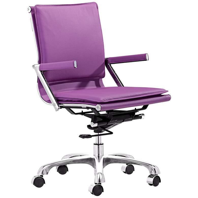 Zuo Lider Plus Purple Office Chair