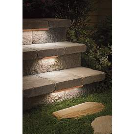 Deck Lighting Step Lights Outdoor Stair Lamps Plus