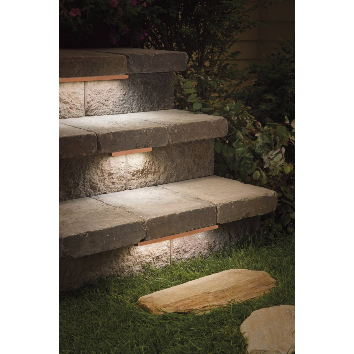 Deck Lighting Step Lights Amp Outdoor Stair Lights Lamps Plus