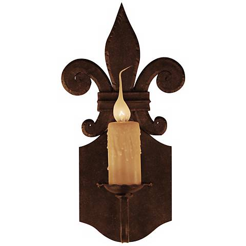"""Laura Lee Florence Single Light 16"""" High Wall Sconce"""