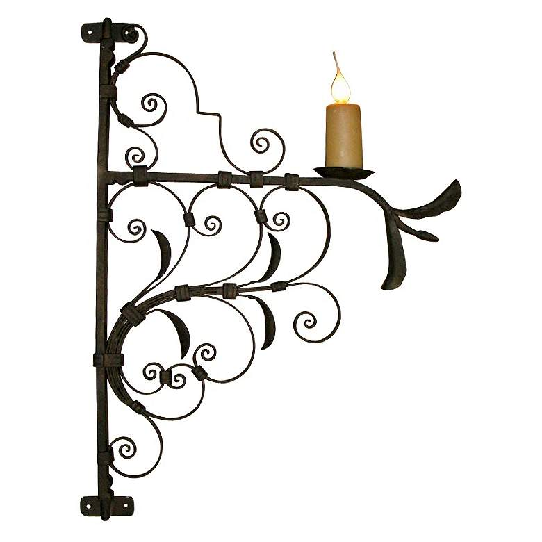 """Laura Lee Arezzo 29"""" High Wall Sconce"""
