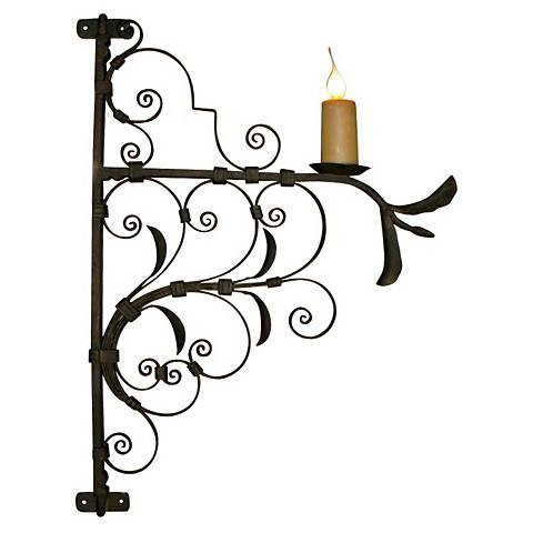 "Laura Lee Arezzo 29"" High Wall Sconce"