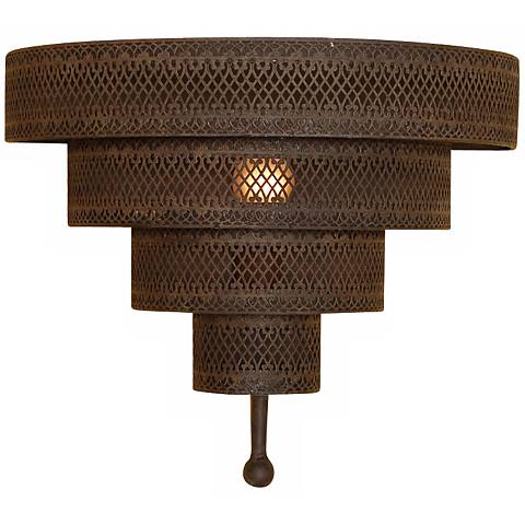 """Laura Lee Vincenza 16"""" High Wall Sconce"""