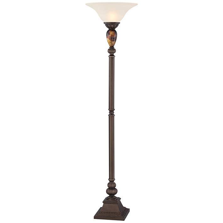 Kathy Ireland Mulholland 72 High Torchiere Floor Lamp T4204 Lamps Plus