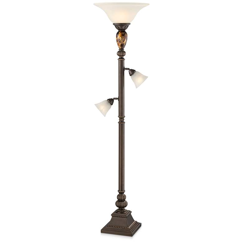 "Kathy Ireland Mulholland 72"" HIgh Tree Torchiere Floor Lamp"