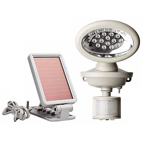 Solar Powered Motion Activated 14 LED Security Spotlight