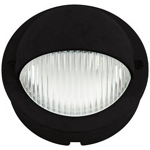 """Black Finish LED 4"""" Wide Deck Light"""