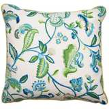 """Maxine 18"""" Square Welt Cording Outdoor Pillow"""