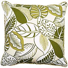 "Nicole 18"" Square Welt Cording Outdoor Pillow"