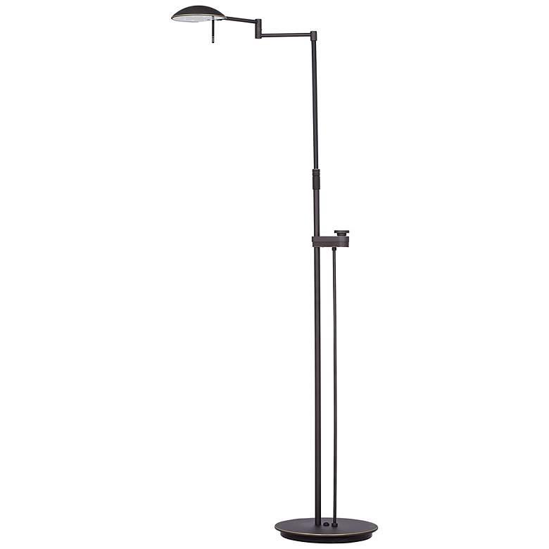 Holtkoetter Bernie Series Bronze Finish LED Floor Lamp