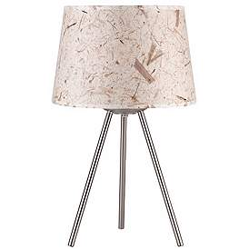 Lights Up 20 High Weegee Small Mango Leaf Paper Table Lamp