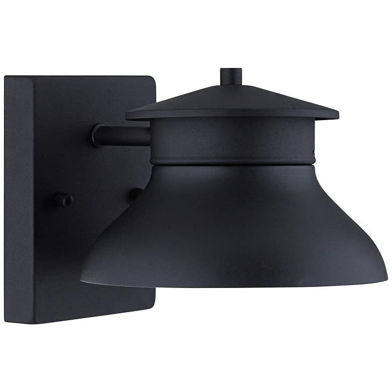 "Danbury 6 1/4"" High Black Dark Sky LED Outdoor Wall Light"