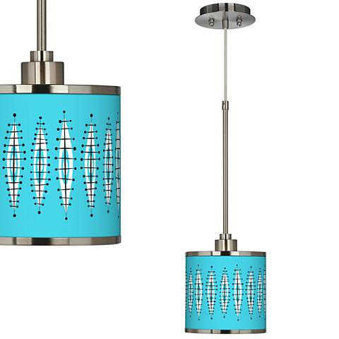 Vibraphonic Bounce Giclee Glow Mini Pendant Light