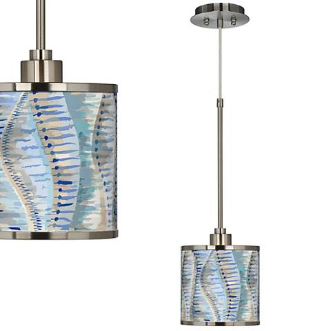 Siren Giclee Glow Mini Pendant Light