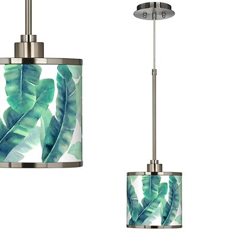 Guinea Giclee Glow Mini Pendant Light