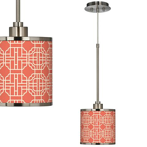 Mandarin Giclee Glow Mini Pendant Light