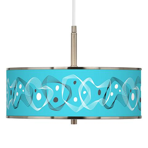 "Spirocraft Giclee Glow 16"" Wide Pendant Light"