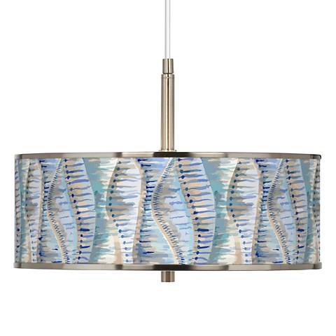 "Siren Giclee Glow 16"" Wide Pendant Light"