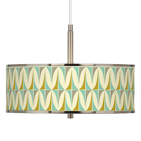 "Vernaculis I Giclee Glow 16"" Wide Pendant Light"