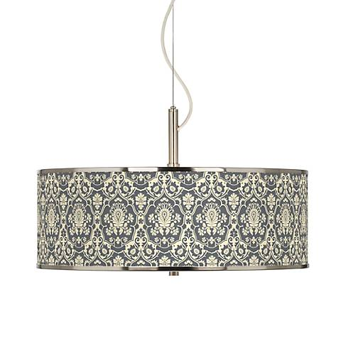 "Seedling by thomaspaul Damask 20"" Wide Pendant Light"