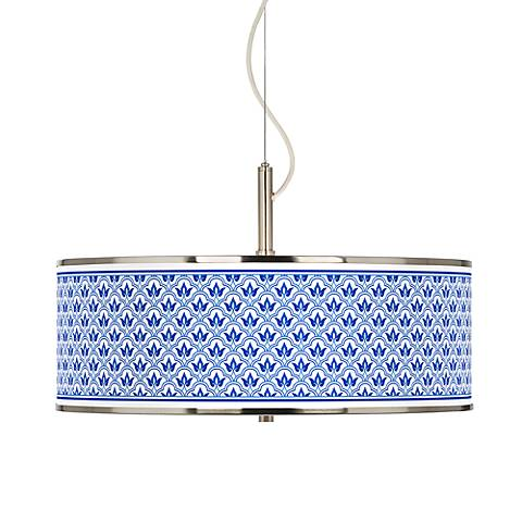 "Arabella Giclee Glow 20"" Wide Pendant Light"