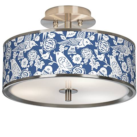 """Seedling by thomaspaul Aviary 14"""" Wide Ceiling Light"""
