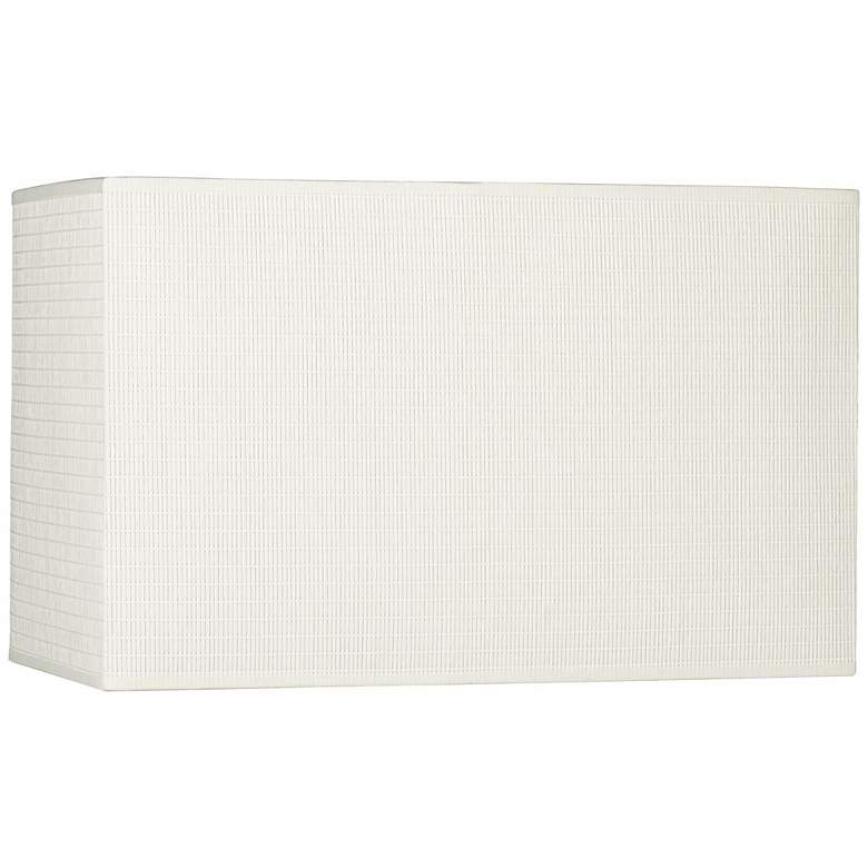 Off-White Rectangular Paper Shade 8/16x8/16x10 (Spider)