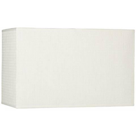 Off-White Rectangular Paper Shade 8/16x8/16x10 (Spider)