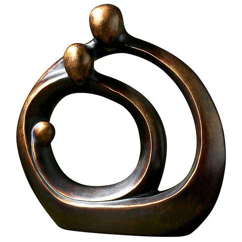"""Uttermost Family Circles 14"""" High Decorative Accent"""