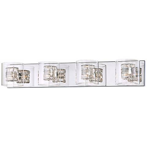 "Possini Euro Design Wrapped Wire 30 3/4"" Wide Bathroom Light"