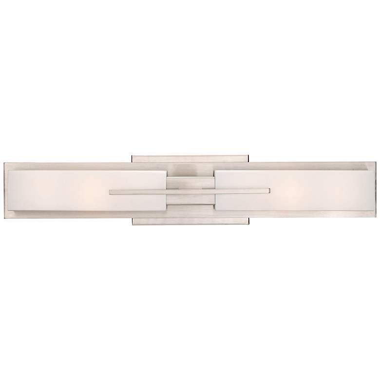 "Possini Euro Collection Midtown 23 1/2""-W Satin Bath Light"
