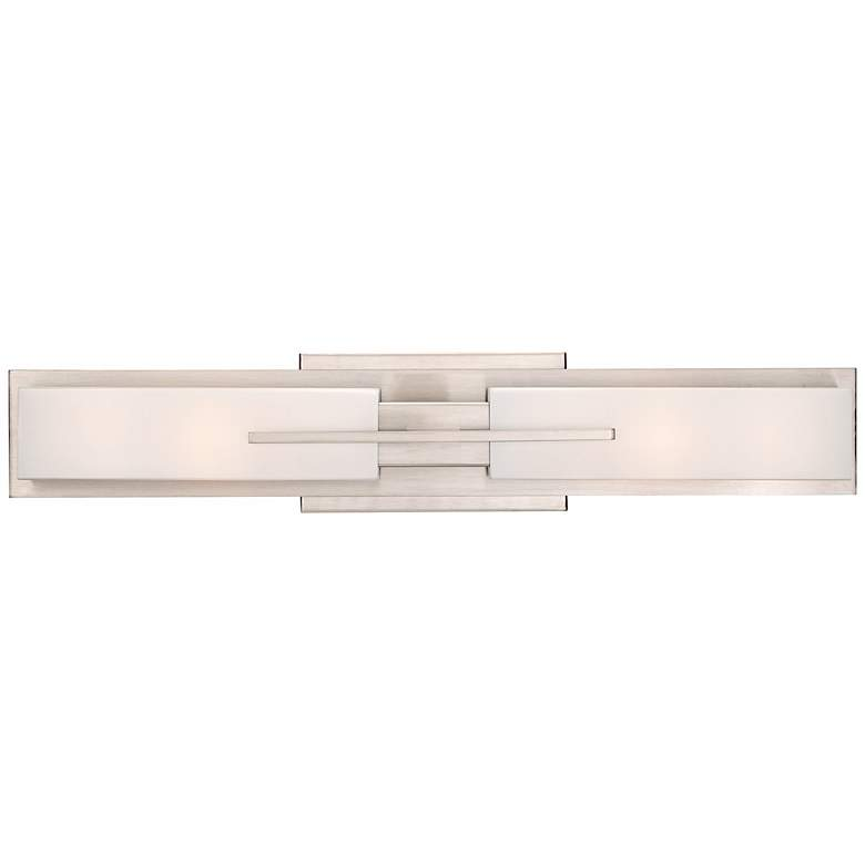 "Possini Euro Collection Midtown 23 1/2""W Satin Bath Light"