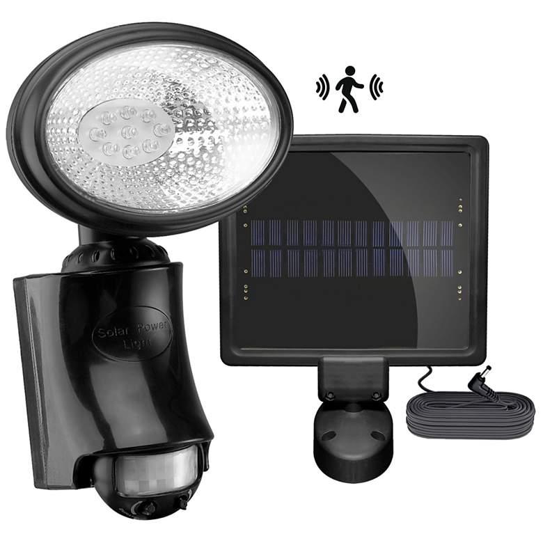 9-LED Solar Motion Sensor Security Light