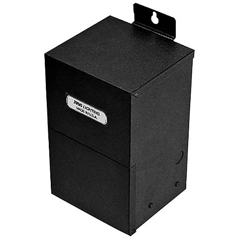 Juno Dual-Circuit 24 Volt Black Magnetic Transformer
