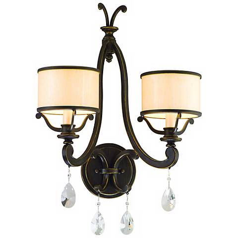 "Corbett Roma Collection 2-Light 20 1/2"" High Wall Sconce"