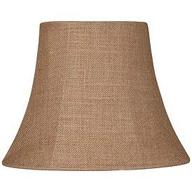 Natural Burlap Small Oval Lamp Shade 6 8x11 14x11 Spider