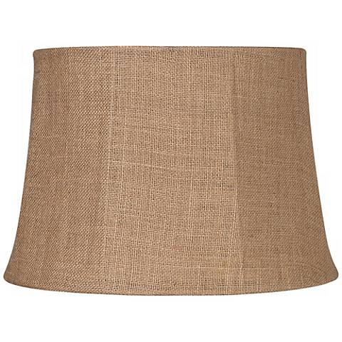 Natural burlap large drum lamp shade 13x16x11 spider u0931 natural burlap large drum lamp shade 13x16x11 spider aloadofball Choice Image