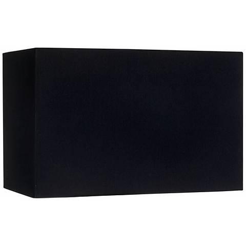 Black rectangular hardback lamp shade 816x816x10 spider u0941 black rectangular hardback lamp shade 816x816x10 spider aloadofball Choice Image