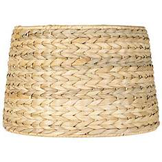 Coastal lamp shades lamps plus woven seagrass drum shade 10x12x825 spider aloadofball Gallery