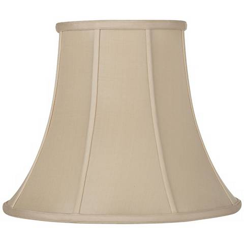 Sand Silk Bell Lamp Shade 6.5x12x9.25 (Spider)