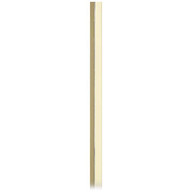 """30"""" Long Polished Brass Cord Cover"""