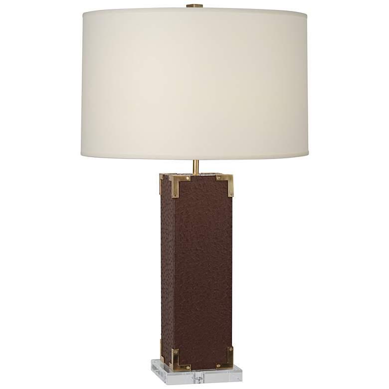Robert Abbey Mary McDonald Spence Cinnamon Table Lamp