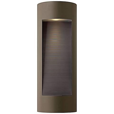 "Hinkley Luna 24"" High LED Bronze Outdoor Wall Light"