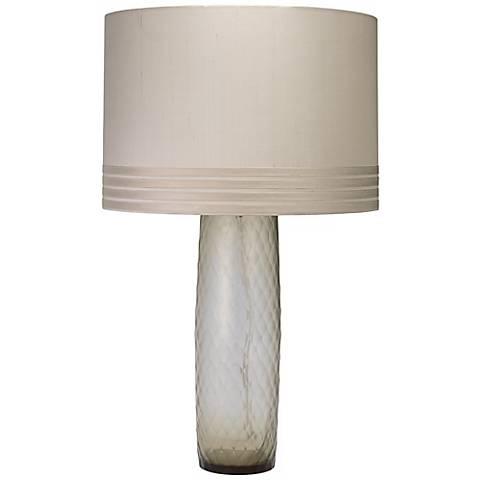 Jamie Young Cloud Smokey Glass Table Lamp